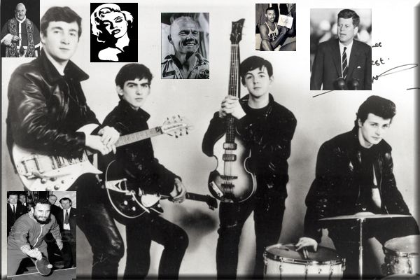 Los beatles - 1962 con Pete Best