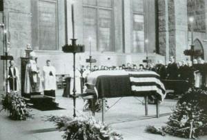 funeralNIkolatesla