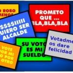 """""""Votadme y os daremos por detras"""".... Eskorbuto"""